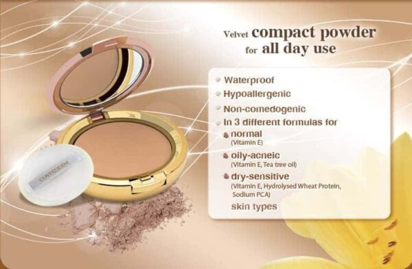 Coverderm Camouflage Compact Powder Product Details