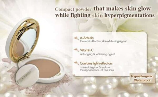 Coverderm Luminous Compact Powder Product Details