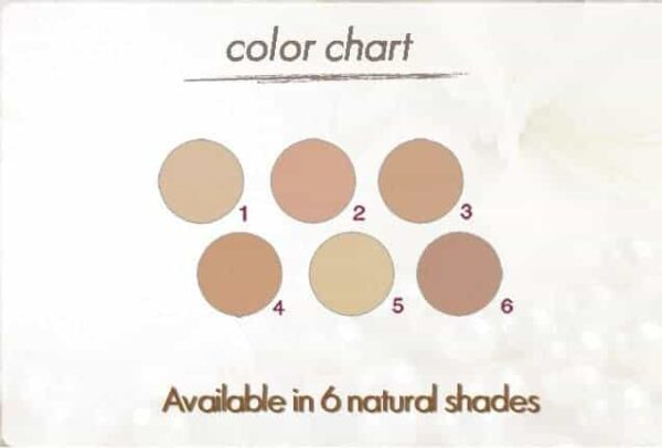 Coverderm Luminous Compact Powder Color Shades