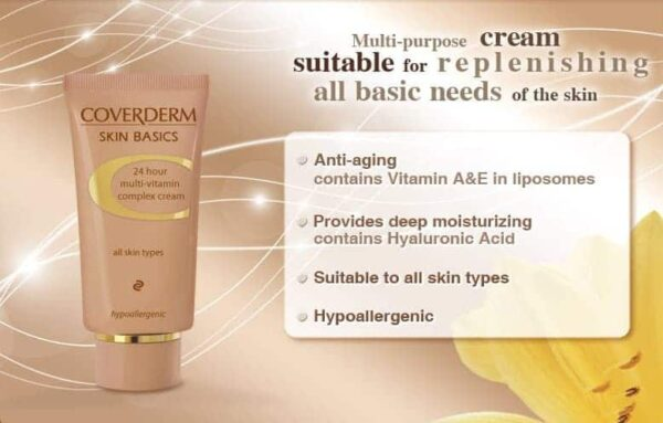 Coverderm Camouflage Skin Basic Product Details
