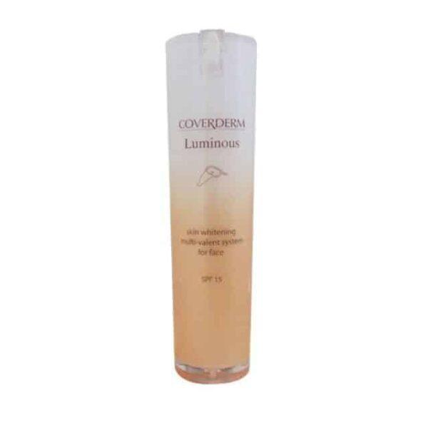Coverderm Luminous whitening day cream