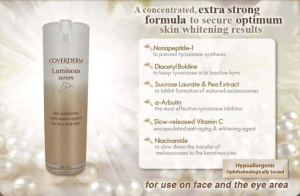 Coverderm Luminous Supreme Serum Product Details