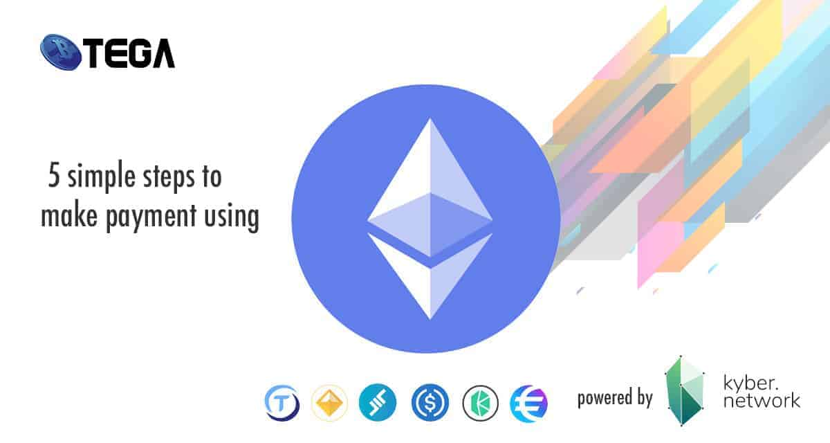 These are 5 simple steps on how you can use ethereum, TUSD, USDC, DAI, LEND and other alt coins in Btega.