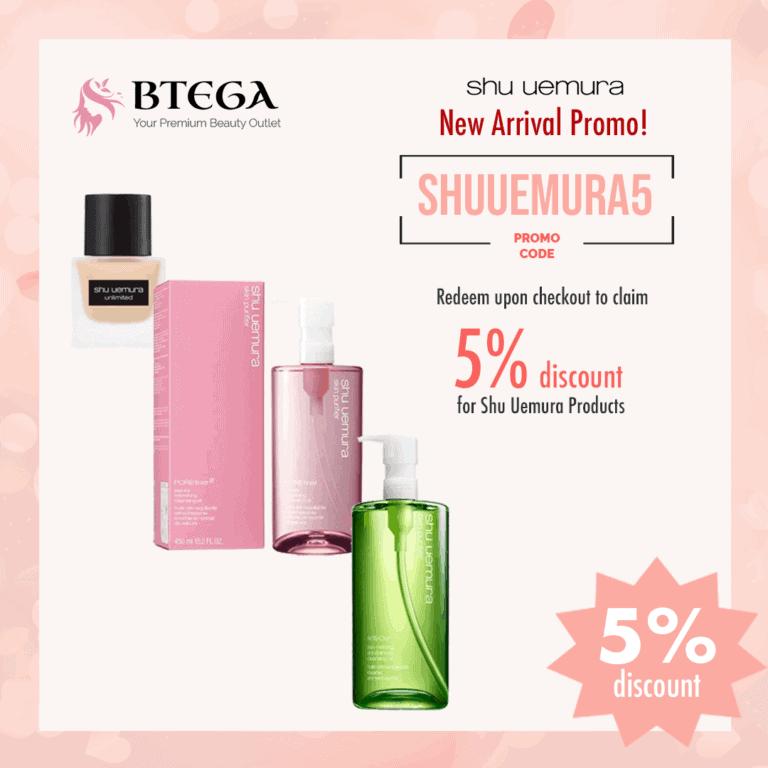 Shu Uemura Skincare Product discount