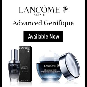 Lancome Advanced Genifique skincare products