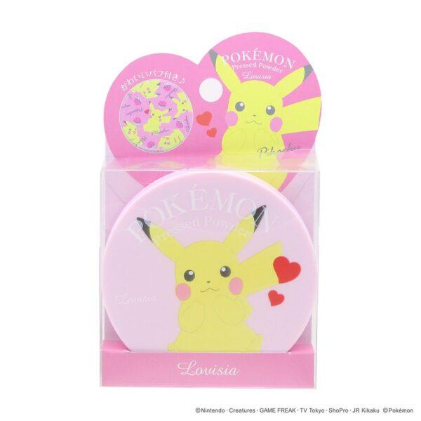 lovisia Pokemon Pressed Powder-pikachu