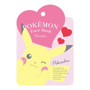 lovisia pokemon pikachu facial face mask