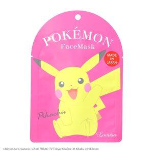 lovisia pokemon facial face mask s3 - pikachu1