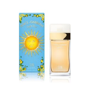 D&G Light Blue Sun Pour Femme EDT Spray (100ml)