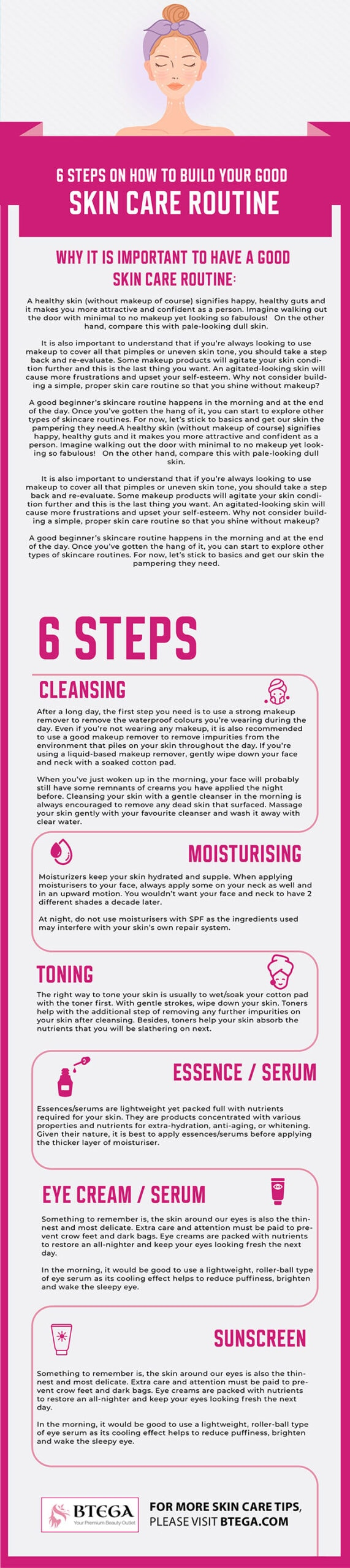 skin care routine - beginner's guide